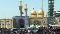 ملايين الزوار الشيعة يحيون ذكرى وفاة الإمام الكاظم في بغداد
