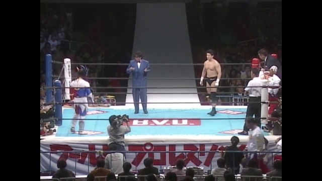 Koji Kanemoto (C/V3) VS Jushin Thunder Liger '96.1.4 [IWGP Jr. Heavyweight Championship Match] ('96 WRESTLING WORLD in Tokyo Dome)