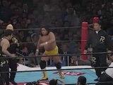 Hiromichi Fuyuki VS Yoji Anjo '96.1.4 [W.A.R VS U.W.F. International Special Match] ('96 WRESTLING WORLD in Tokyo Dome)