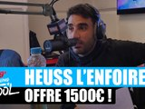 Heuss L'enfoiré offre 1500¤ à un auditeur #MorningDeDifool