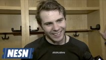 Jake DeBrusk On What He Has Learned From Brad Marchand During Time On Bruins