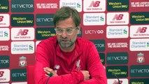 Klopp 'completely fine' with Salah's goal-scoring contribution this season