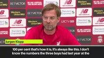 (Subtitled) Klopp defends Salah's goal contribution