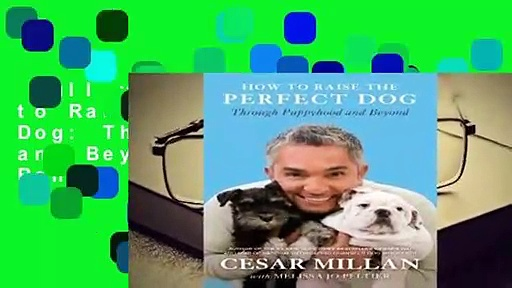 Full version  How to Raise the Perfect Dog: Through Puppyhood and Beyond  Best Sellers Rank : #1