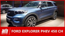 Ford Explorer PHEV 450 ch : bientôt vendu en France