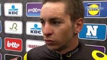 """A Travers la Flandre 2019 - Anthony Turgis 2e battu par Mathieu van der Poel : """"J'ai tenté le coup"""""""