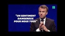 """Avec les maires, Macron veut s'attaquer au """"sentiment anti-État"""""""