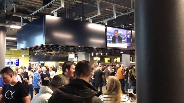 Así tiran la cerveza en el nuevo Tottenham Hotspur Stadium