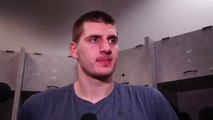 Nikola Jokic on the Nuggets Against the Warriors
