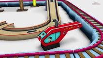 Choo Choo Train - Usine de Jouets Train de bande dessinée de bande dessinée - Trains pour les Enfants