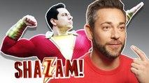 Shazam : de faux muscles pour Zachary Levi ?