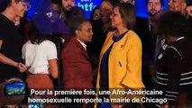 Chicago a élu une maire noire et homosexuelle, une première