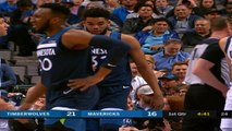 Minnesota Timberwolves at Dallas Mavericks Recap Raw
