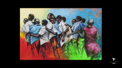 MEET THE ARTIST by Okuhle Magcaba (South Africa) - WEB CREATION