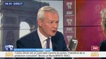 """""""Je ne veux plus d'évasion fiscale."""": Bruno Le Maire promet un impôt minimum  pour les multinationales qui délocalisent leurs bénéfices dans des paradis fiscaux"""