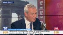 "Bruno Le Maire: ""La taxe GAFA rapportera 2 milliards d'euros d'ici 2022"""