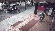 Isulan, Sultan Kudarat bomber plants the bomb outside the restaurant
