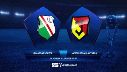Legia Warszawa 3:0 Jagiellonia Białystok - Matchweek 28: HIGHLIGHTS