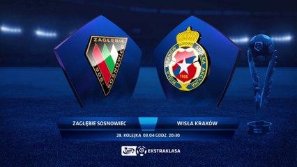 Zagłębie Sosnowiec 4:3 Wisła Kraków - Matchweek 28: HIGHLIGHTS