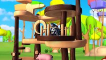 Grange Animaux de Plaisir Avec le Bois de l'Arbre de Maison de Jeu Jeu en Forêt - Animaux de Zoo pour les Enfants des Activités ludiques | Peony Noakes