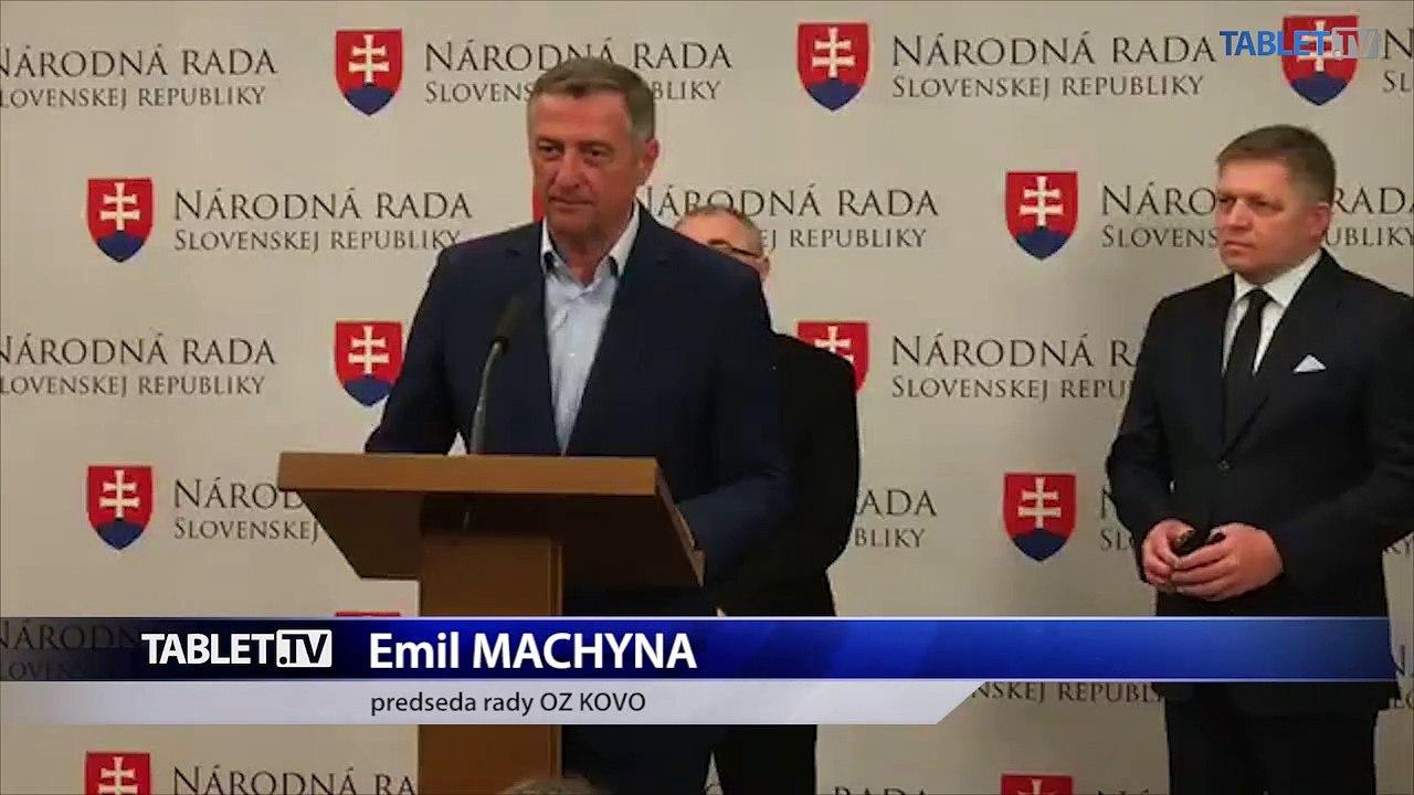ZÁZNAM: TK R. Fica, E. Machynu a M. Magdoška