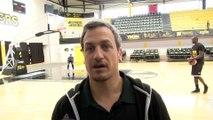 Rémi Giuitta coach de Fos Provence Basket avant Fos - Levallois