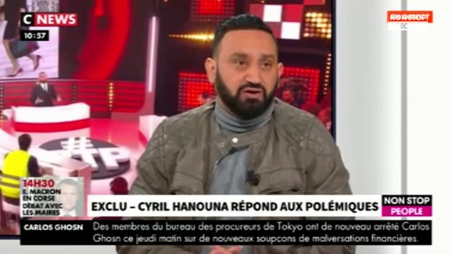 """Cyril Hanouna : politique et gilets jaunes dans """"BTP"""", il répond aux polémiques"""