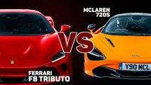 VÍDEO: Ferrari F8 Tributo o McLaren 720S, ¿Cuál es mejor?