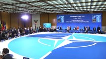 Dışişleri Bakanı Çavuşoğlu, NATO Dışişleri Bakanları Toplantısında - WASHINGTON