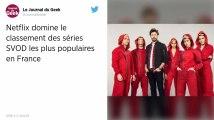 Casa de papel, Stranger Things, Sense 8… Netflix domine le classement des séries préférées des Français