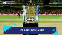 IPL 2019 | RCB vs KKR match 17 preview: Team news, betting odds, broadcast time
