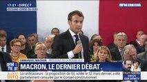 """Emmanuel Macron en Corse: """"Je ne réponds pas en tant que président de la République à une"""