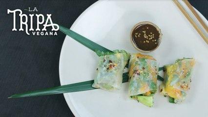 Rollos Vietnamitas   La Tripa Vegana