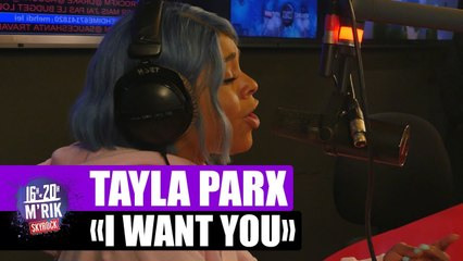 "Tayla Parx ""I want you"" en live"