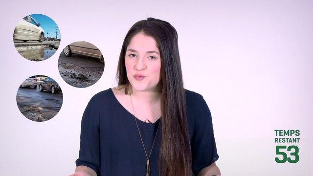 Métro t'explique_ les nids-de-poule à Montréal