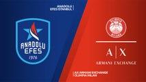 Anadolu Efes Istanbul - AX Armani Exchange Olimpia Milan Highlights   EuroLeague RS Round 30