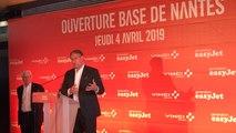 EasyJet. La compagnie aérienne mise sur Nantes et diminue son bilan carbone  (en anglais)