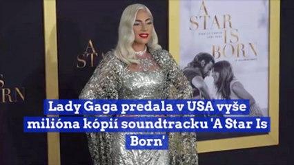 Lady Gaga predala v USA vyše milióna kópií singlu 'A Star Is Born'