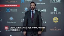 4 Days And Out For Nicolas Cage Marriage