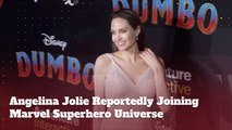Angelina Jolie Is About To Join The Marvel Superhero Universe