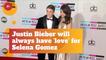 Justin Bieber Addresses Love For Selena Gomez