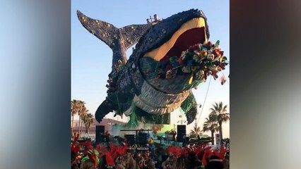 Impressive Whale Float Highlights Issue Of Plastic Pollution