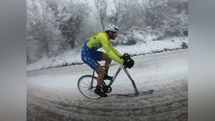 Man Creates Super Cool 'Ski Bike'