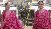 Alia Bhatt, Varun Dhawan, Aditya Roy Kapur & Madhuri Dixit Promote Kalank; Watch Video | FilmiBeat