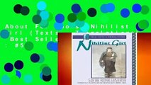 About For Books  Nihilist Girl (Texts   Translations)  Best Sellers Rank : #5