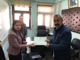 Tunceli Belediye Başkanı Fatih Mehmet Maçoğlu Mazbatasını Aldı