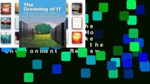 Full version  The Greening of IT: How Companies Can Make a Difference for the Environment  Review
