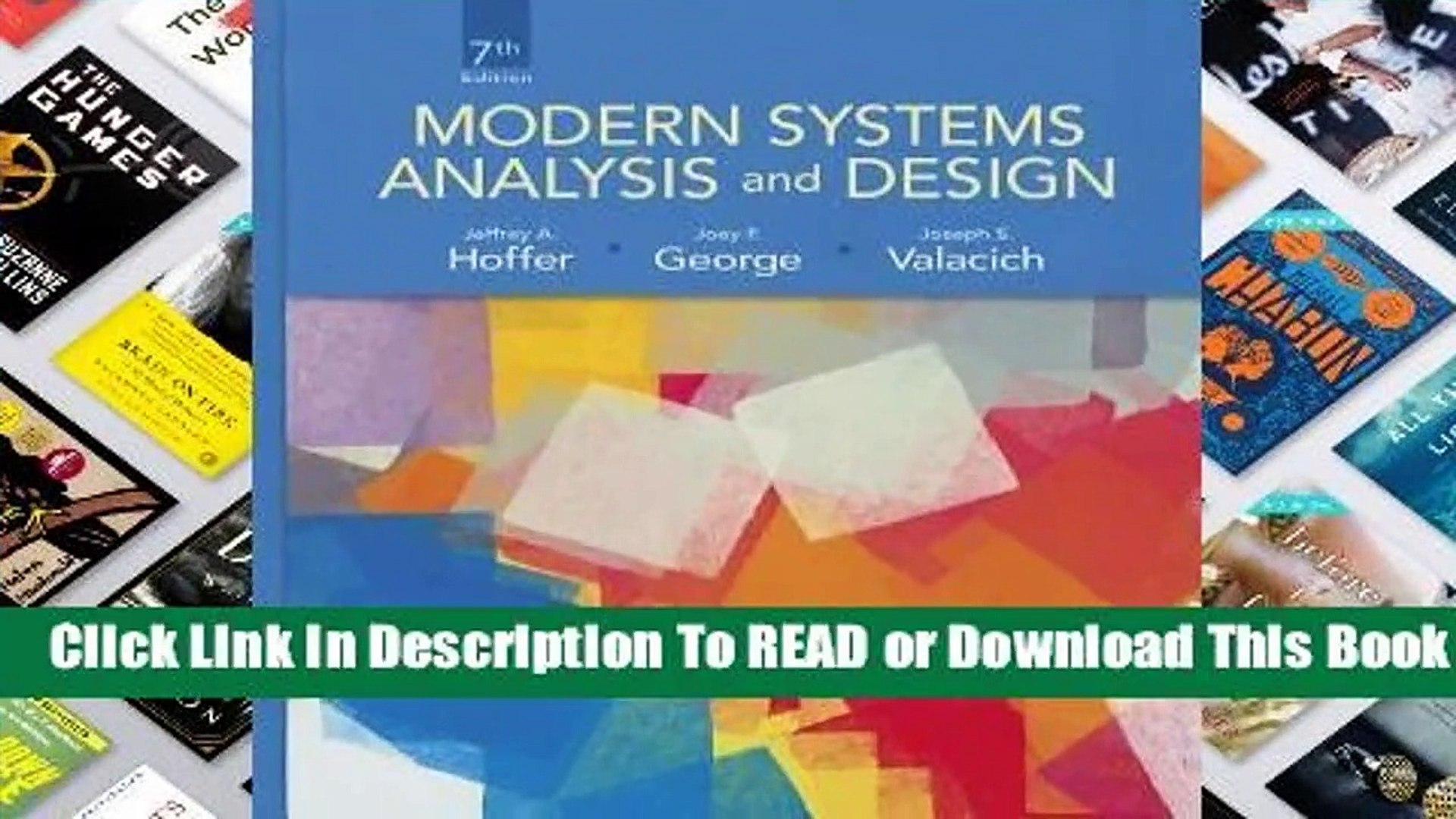 Read Modern Systems Analysis And Design For Online Video Dailymotion