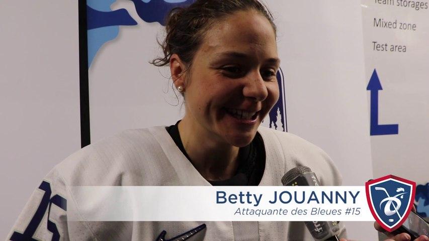 CM2019 Espoo. Betty Jouanny honore sa 200ème sélection