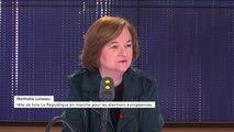"""Européennes : """"beaucoup de postures, pas beaucoup de solutions"""" regrette Nathalie Loiseau après le premier débat"""